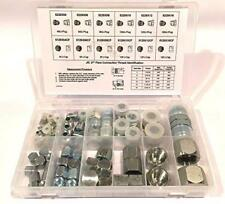 "64 PC LOT JIC PLUG AND CAP HYDRAULIC ADAPTER FITTING ""AN"" KIT SET"