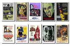 Hammer - Horror Film Poster Postcard Set # 4