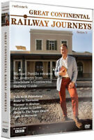 GREAT CONTINENTAL RAILWAY JOURNEYS series 3 three. 2 discs. New sealed DVD.
