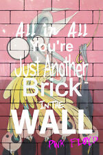 """Pink Floyd Poster Original Another Brick in the Wall Teacher Poster 24"""" x 36"""""""