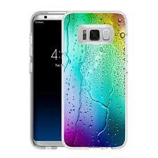 Coque Etui Samsung Galaxy S 8 Plus - Motif Goutte D'Eau