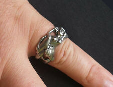 Philatio Oral Sex Pewter Biker Ring by Stoney's Badge Supplies