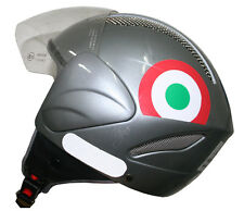Adesivi tricolore Piaggio Vespa  casco - adesivi/adhesives/stickers/decal