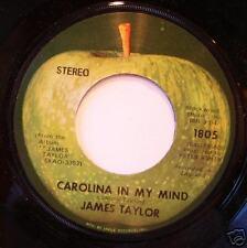 JAMES TAYLOR Carolina In My Mind APPLE 1805 Lbl Var.2