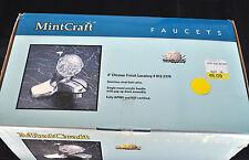 "Mintcraft 4"" Chrome Finish Lavatory Faucet 012-2770 New Old Stock"