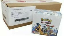 Pokemon XY Evolutions FACTORY SEALED Case 6 Booster Boxes In PERFECT CONDITION