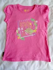 Hi-Gear Girls Pink Short Sleeve Springfield T-Shirt / Top. Age 7 to 8 years.