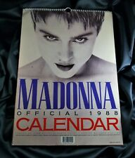 MADONNA OFFICIAL CALENDAR 1988 BOY TOY INC/DANILO