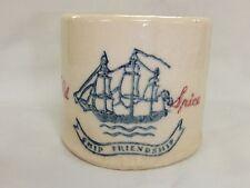 Vintage Old Spice Ship Friendship Shaving Mug Cup