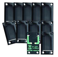 Lot de 50 cellules solaires 0,50 V - 100 mA