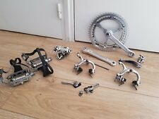 Groupe CAMPAGNOLO NUOVO RECORD GRAN SPORT vintage groupset 79 road steel velo