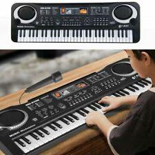 61 Keys Digital Electronic Music Keyboard & Microphone Electric Piano Organ 21