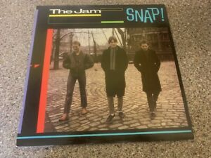 The Jam Snap + Inners Stunning Vinyl Rare Original Double LP