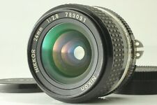 【EXC+3】 Nikon NIKKOR Ai-s 24mm f/2.8 AIS F Mount MF Wide Angle Lens From JAPAN