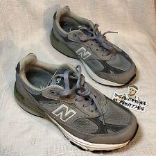 New Balance 993 USA Made Suede Running Shoes Womens Sz 6.5 EU 37 sneakers gray