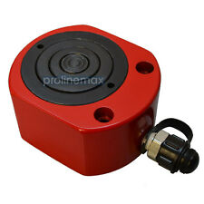 "20 Ton MULTI STAGE Flat Jack Pancake Ram Hydraulic Cylinder (26mm) 1.02"" Stroke"