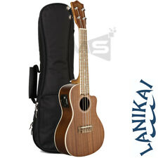NEW LANIKAI M-SERIES MA-CEC CONCERT ACOUSTIC ELECTRIC UKULELE w/ FISHMAN PICKUPS