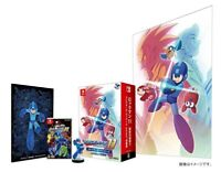 USED CAPCOM Nintendo Switch Megaman 11 Rockman Collector's Package w/Tracking