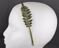 Bronze Laurel Leaf crown Leaves headband hair band greek toga roman costume