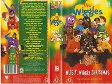*The Wiggles - Wiggly Wiggly Christmas* 1997 Original Wiggles & Gang Vhs Issue!