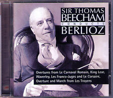 BEECHAM: Berlioz King Lear Waverly Troyens Corsair roman carnival overture CD