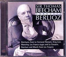 BEECHAM: BERLIOZ King Lear Waverly Troyens Corsair Roman Carnival Overture CD