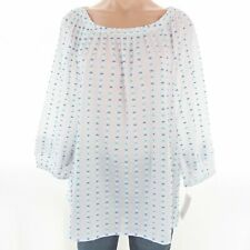 Charter Club Women's Top XL Off The Shoulder Cotton Blouse