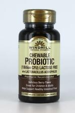 Windmill Chewable Probiotic 1 Billion CFU Helps maintain gastrointestinal health