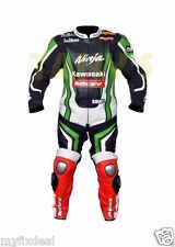 Tom Sykes Kawasaki Ninja 2013 Motorcycle Motogp Motorbike Racing Leather Suit