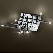 Luxus Design Decken Leuchte Chrom Wohn Ess Schlaf Büro Zimmer OSRAM Licht WOFI
