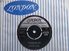 "M- UK LONDON 45 - SANFORD CLARK - ""PLEDGING MY LOVE"" / ""GO ON HOME"""