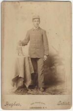 Victorian Marching Band Cornet Horn Player Cabinet Card