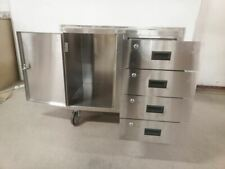 Jamco Yy236U500 1200 Lb Cap 37 In W Stainless Steel Mobile Cabinet Workbench