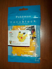 NANOBLOCK Pikachu Pokemon Miniature Building Set New Sealed In Package