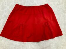 New listing Chrissie by Tail Women's Red Tennis or Golf Skort Size Large with Ball Pockets