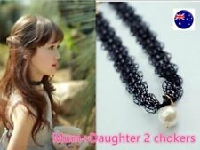 Lace Pearl Beauty Fashion Necklaces & Pendants