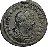 CONSTANTIUS II Constantine the Great son Ancient Roman Coin LEGIONS  i23067