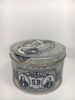 Vintage Smith Bros. Cough Drops Tin