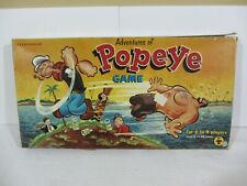 Transogram- Adventures of Popeye Game  Vintage 1975  GC  (320EC)  3848-198