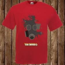 Mens Womans TEAM FORTRESS 2 PYRO Retro Cult PC Gaming T Shirt Tee Freepost UK
