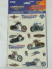 AMERICAN CHOPPER  16- MAGNETS - VARIOUS SIZES -  PARTY SUPPLIES
