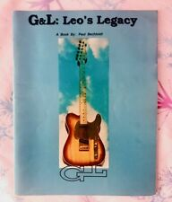 Leo Fender of G&L: Leo's Legacy Book 1994, Paul Bechtoldt, Rare, guitar & bass