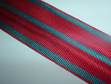 MEDAL RIBBON-GOOD QUALITY BELGIUM/BELGIAN WW1 FIRE CROSS FOR FRONT LINE SERVICE