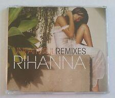 Rihanna Unfaithful (Remixes) 6 Track EU Promo Maxi CD Single 2006