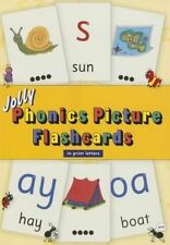 Jolly Phonics Picture Flash Cards in Precursive Letters 9781844144396