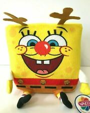 Spongebob Squarepants Cube Plush Toy 6'' tall. Reindeer Licensed. New. Christmas