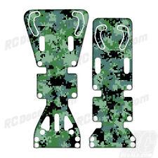 T-Maxx / E-Maxx INTEGY Skid Plate Protectors Digital Camo Green - Traxxas