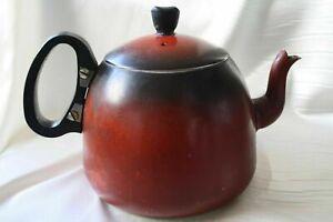 Vintage 1940s Red Kettle