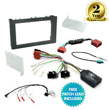 CTKSA01 Double Din Car Stereo Fascia Fitting Kit For Saab 9-3 (2008 Onwards)