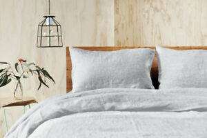 Jenny McLean Doux 100% French Flax Linen Quilt Cover Set - RANS, Quilt Covers
